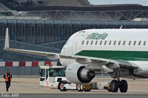 KLM ontkent bod op Alitalia