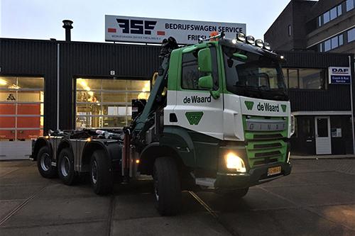 Vijfde GINAF Truck voor De Waard Sneek