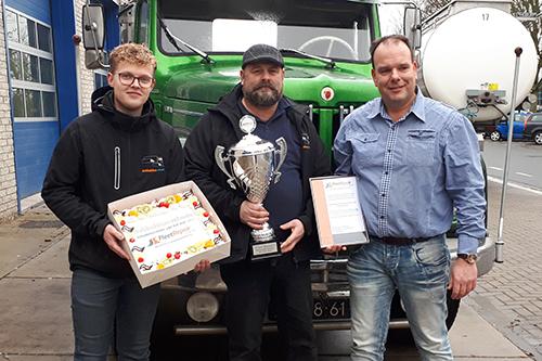 Dubbeldam Schade Zwijndrecht winnaar 'FleetRepair Schadehersteller van het Jaar'