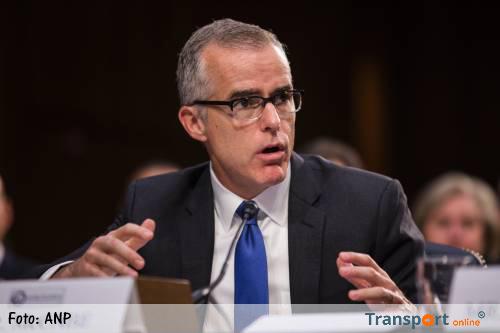 Adjunct-directeur FBI vertrekt voortijdig
