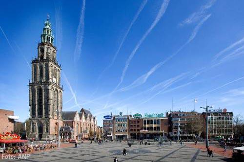 Lichte aardbeving onder stad Groningen