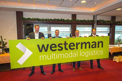 Feestelijke rebranding met onthulling Mercedes-Benz Actros voor Westerman Multimodal Logistics