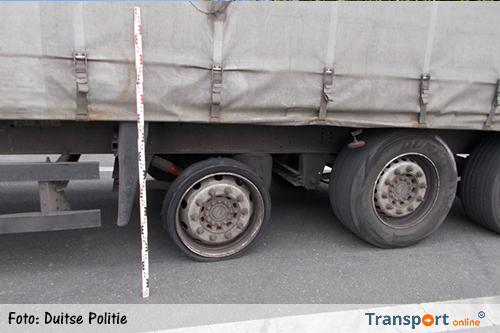 Dronken vrachtwagenchauffeur slingerend over de Duitse A2
