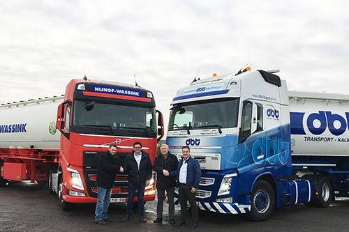 Nijhof-Wassink en DBT Bulkvervoer bundelen logistieke krachten in België