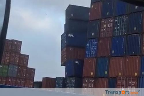 Containerterminals haven Rotterdam ook dicht [+video's]