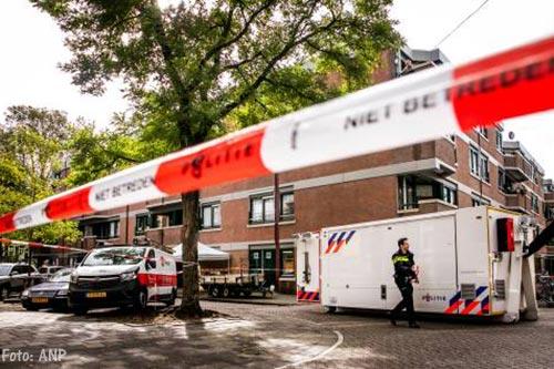 Neergeschoten verdachte Amsterdam droeg plaksnor