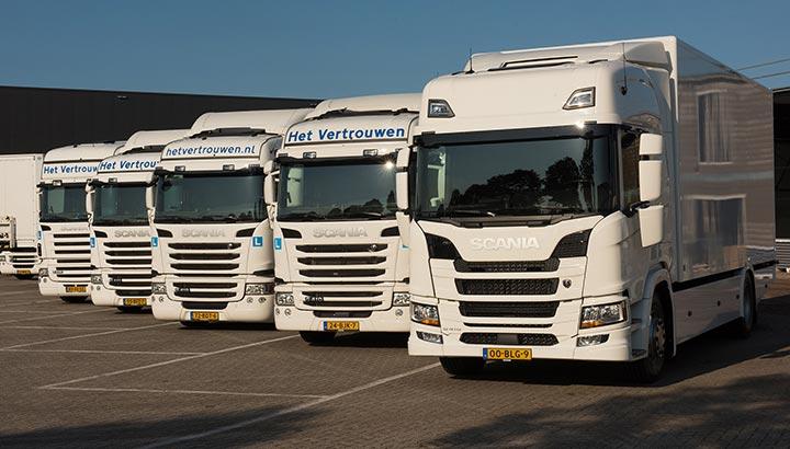 Het Vertrouwen Opleidingen kiest opnieuw voor premium merk Scania