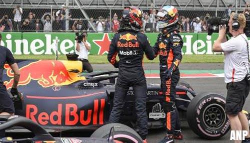 Startinstructie voor Verstappen en Ricciardo