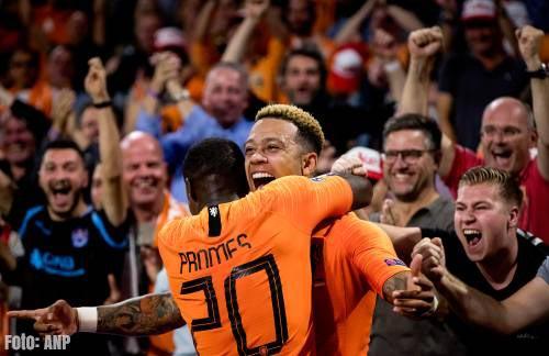 Oranje houdt woord en verslaat Duitsers