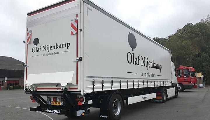 Tuinplantenspecialist Olaf Nijenkamp Raalte kiest voor Krone via Wezenberg Trailers