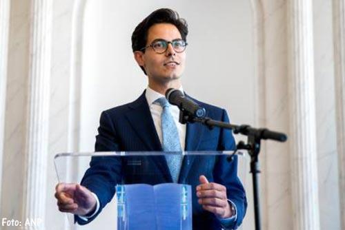 Rob Jetten nieuwe fractievoorzitter D66 in Tweede Kamer