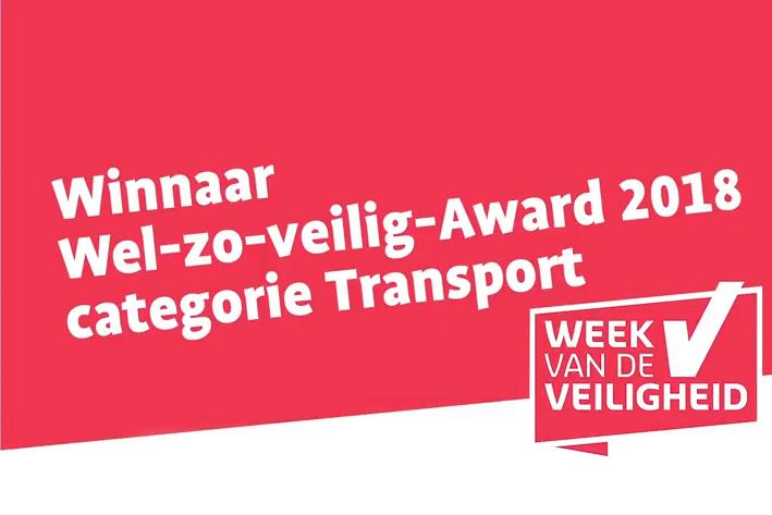 Mainfreight in 's-Heerenberg wint 'Wel-zo-veilig-Award'