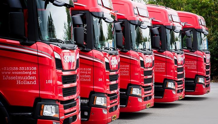 Wezenberg Transport plaatst order van 134 Scania's