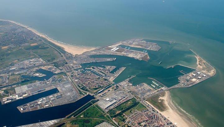 Zeebrugge groeit na drie kwartalen met 7,7 procent