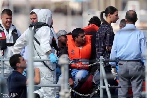 Migranten verdronken in Middellandse Zee