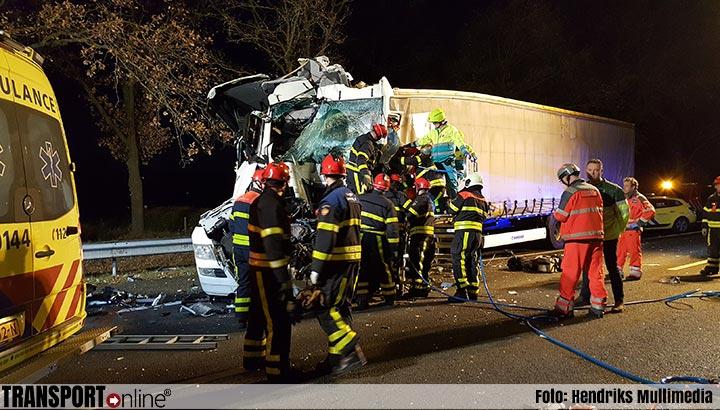 Ernstige ongevallen op A58 met vrachtwagens [UPDATE+foto's]