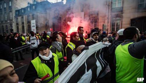 Protesten in Frankrijk houden aan [+foto's&video]