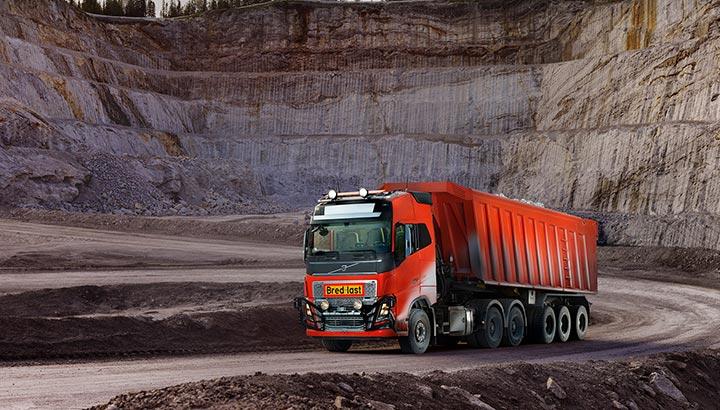 Volvo Trucks biedt zelfrijdende transportoplossing voor Brønnøy Kalk AS [+foto's&video]