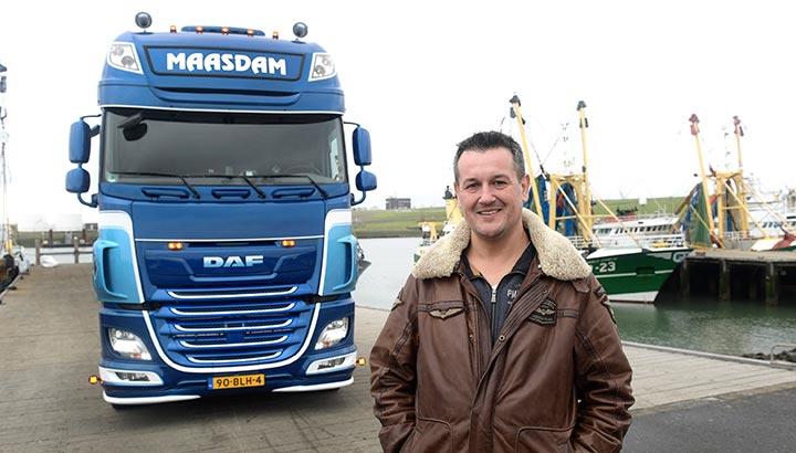 'Droom DAF' voor eigen rijder Jan Maasdam