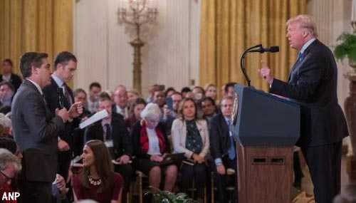 Witte Huis moet CNN-journalist Jim Acosta weer toelaten
