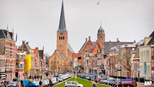 Kerk in Franeker ontruimd na brand