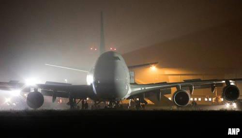 Zware vrachtvliegtuigen kunnen niet meer landen op MAA
