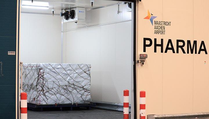 Maastricht Aachen Airport Pharma gecertificeerd