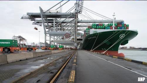 Eerste tests met 5G netwerk in Rotterdamse haven