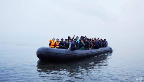 Al 100.000 migranten naar Europa gereisd