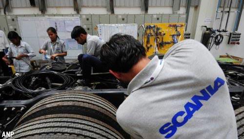 Weer stakingen bij Scania