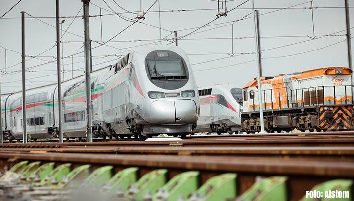 Marokko heeft snelste trein van Afrika