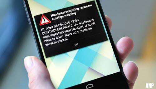 NL-Alert verschijnt in het openbaar vervoer