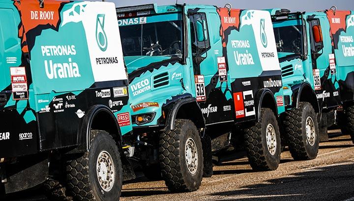 Petronas De Rooy-team neemt samen met IVECO opnieuw deel aan Dakar-rally
