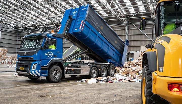 119 Volvo-trucks voor Renewi