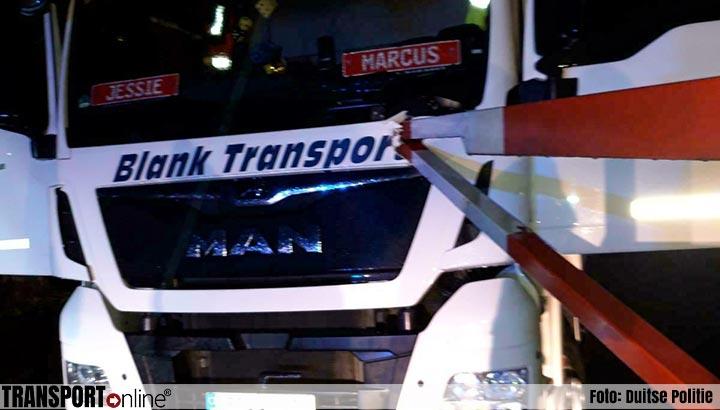 Slagboom doorboort op haar na vrachtwagenchauffeur [+foto's]