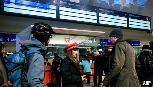 Grote staking legt Duits treinverkeer plat