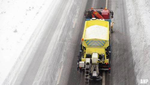 Ongelukken en vertragingen door winters weer
