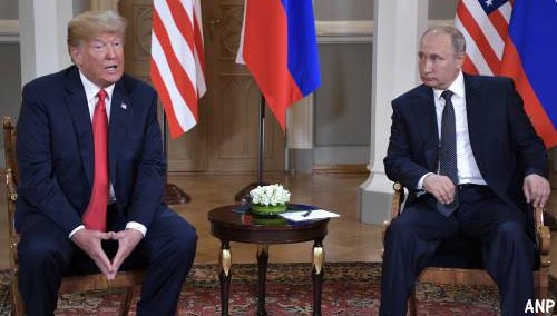 Poetin tevreden over vertrek VS uit Syrië