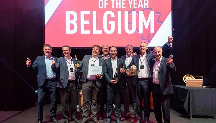Renault Trucks België verkozen tot 'Renault Trucks Best Market of the Year 2018'