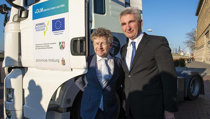 Start van grootste Europese programma met zware elektrische vrachtwagens