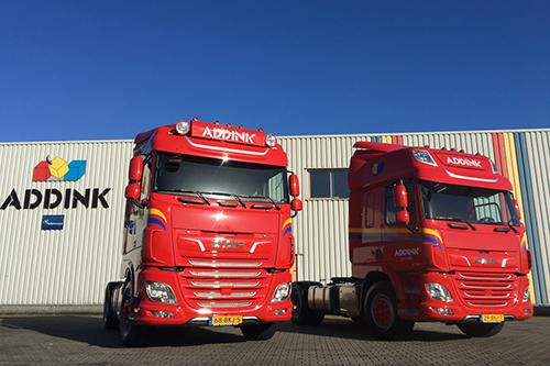 Nieuwe DAF XF en CF voor Addink Distributie