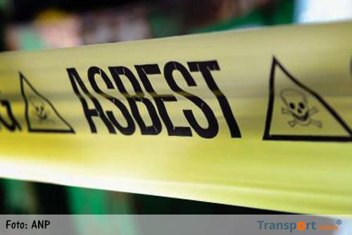 Mogelijk asbest vrij bij brand Winschoten