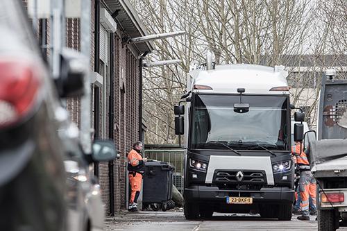Eerste Renault Trucks D-Access voor Circulus-Berkel