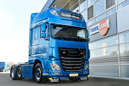 Goedegebuure Transport begint bedrijf met spiksplinternieuwe DAF XF