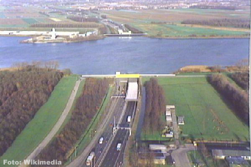 Weekendafsluiting Heinenoordtunnel A29