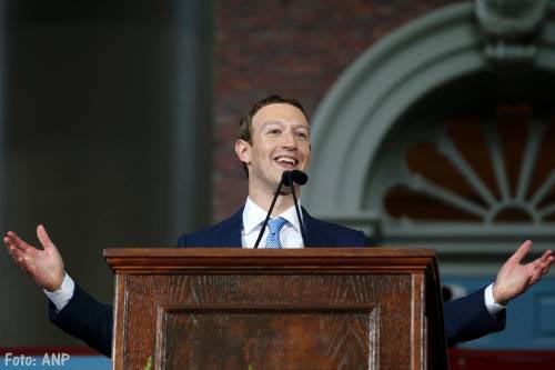 Mark Zuckerberg verkoopt aandelen voor goede doel