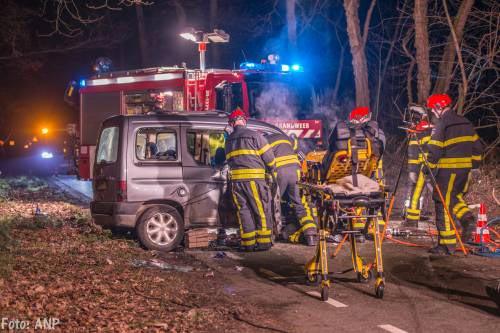 Dode en gewonde bij ongeluk in Bergen op Zoom