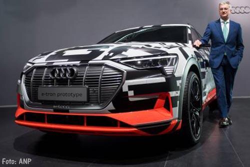 Audi trekt miljarden uit voor nieuwe modellen