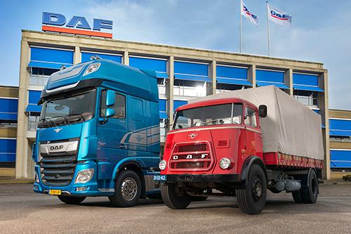 DAF Trucks - 90 jaar innovatieve transportoplossingen