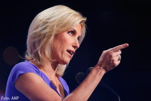 Fox News presentatrice Laura Ingraham ertussenuit na ophef